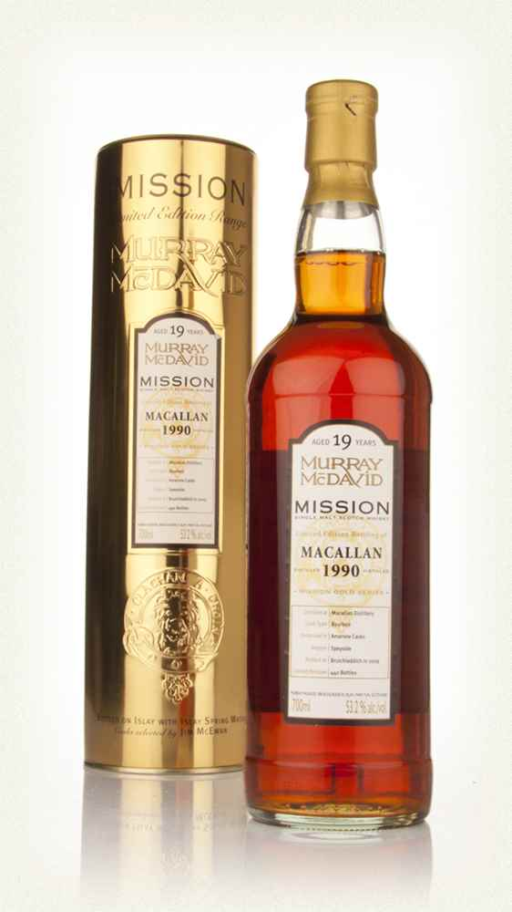 Macallan 19 Year Old 1990 - Mission (Murray McDavid)