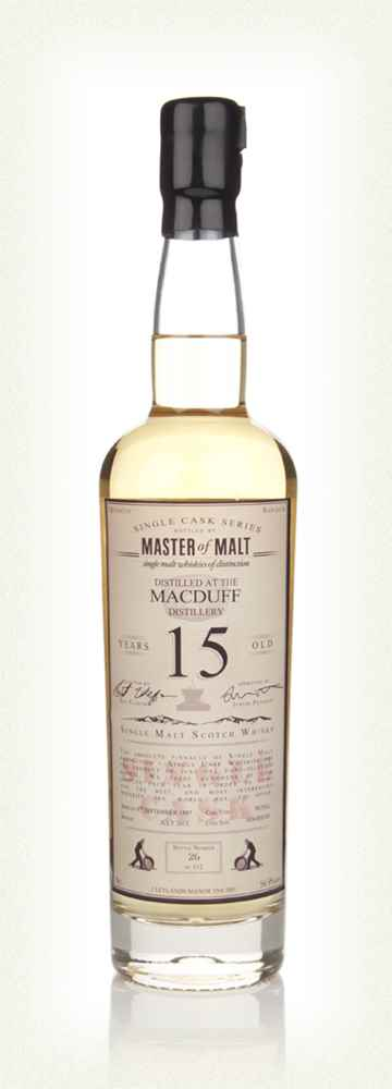 Macduff 15 Year Old 1997 - Single Cask (Master of Malt)