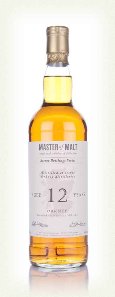 Master of Malt 12 Year Old Orkney