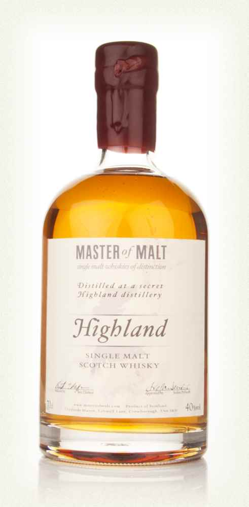 Master of Malt Highland Single Malt
