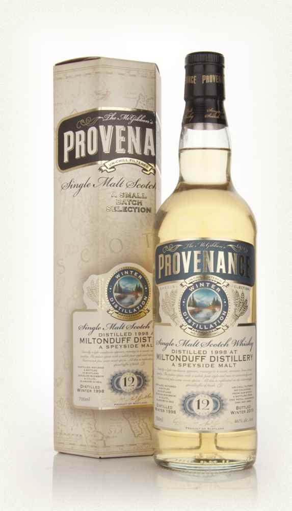Miltonduff 12 Year Old 1998 - Provenance (Douglas Laing)