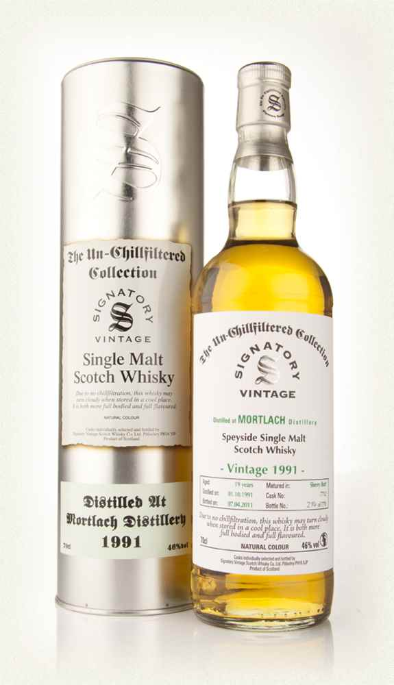 Mortlach 19 Year Old 1991 - Un-Chillfiltered (Signatory)