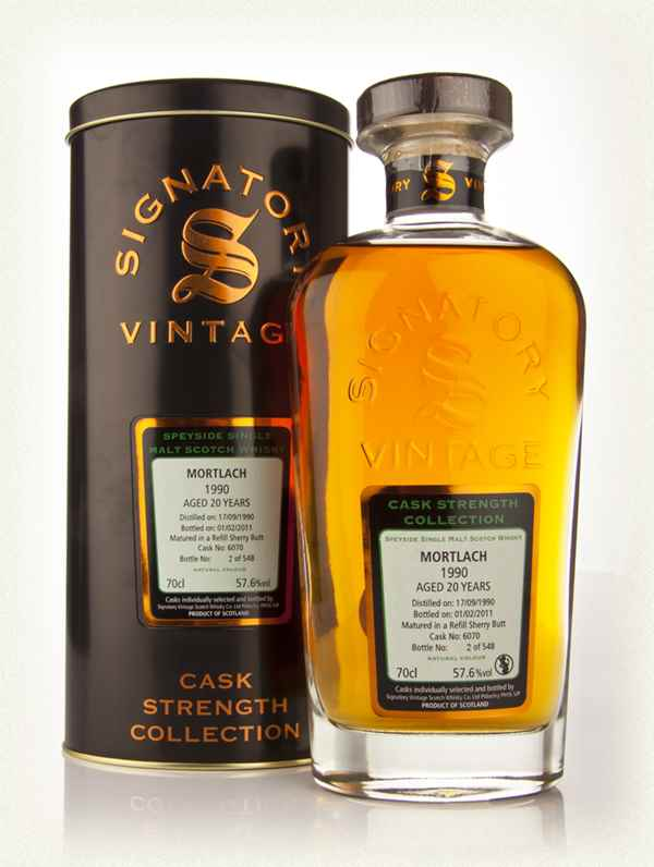 Mortlach 20 Year Old 1990 - Cask Strength Collection (Signatory)