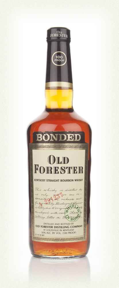 Old Forester Bourbon - 2000s