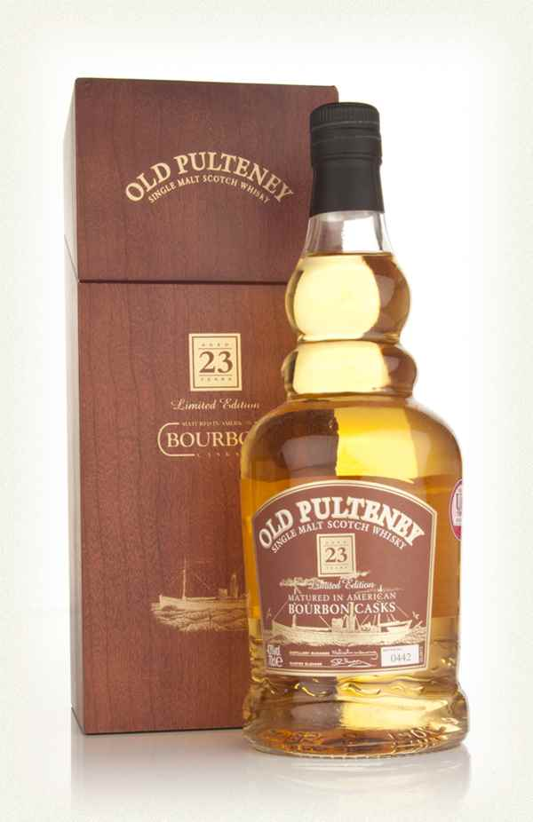Old Pulteney 23 Year Old - Bourbon Casks