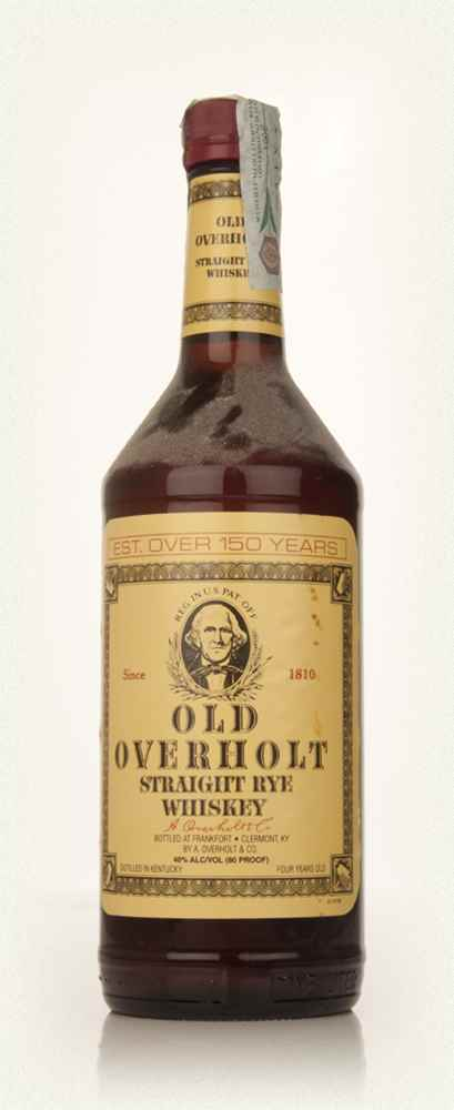 Old Overholt 4 Year Old Straight Rye Whiskey - 2000s