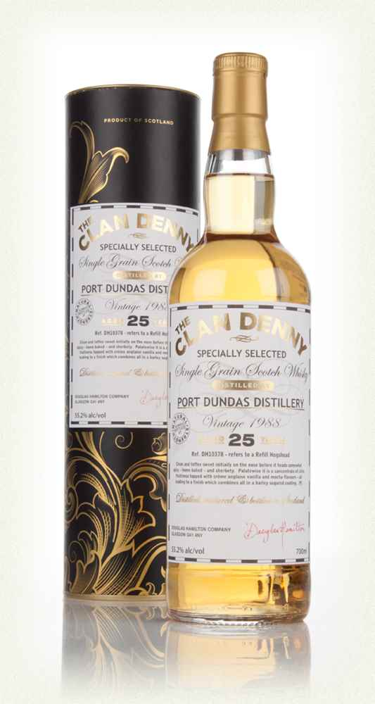 Port Dundas 25 Year Old 1988 (cask 10378) - The Clan Denny (Douglas Laing)
