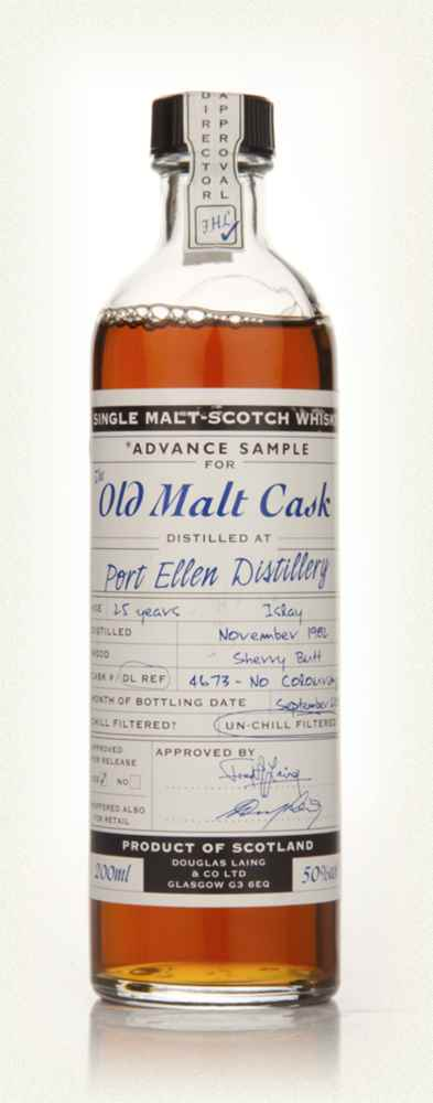 Port Ellen 25 Year Old 1982 Advance Sample - Old Malt Cask (Douglas Laing) 20cl
