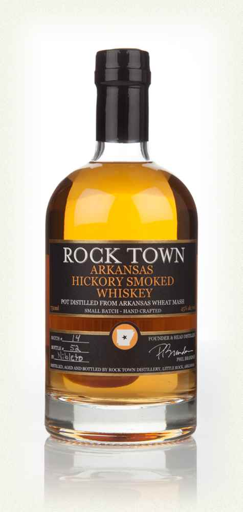 Rock Town Arkansas Hickory Smoked Whiskey