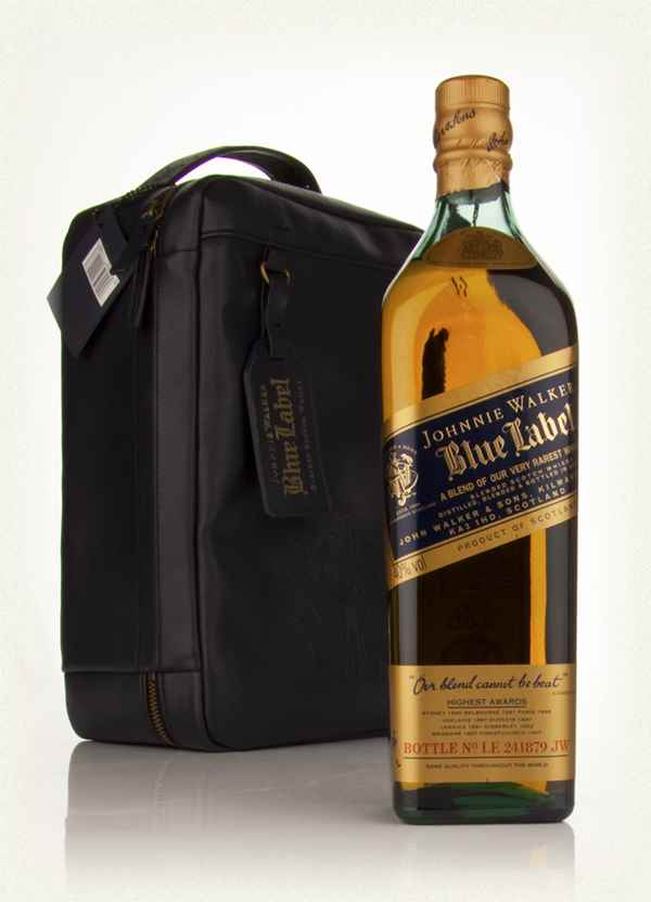 Johnnie Walker Blue Label with Bill Amberg Traveller Bag