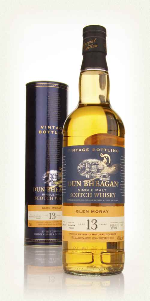 Glen Moray 13 Year Old 1996 - Dun Bheagan (Ian MacLeod)
