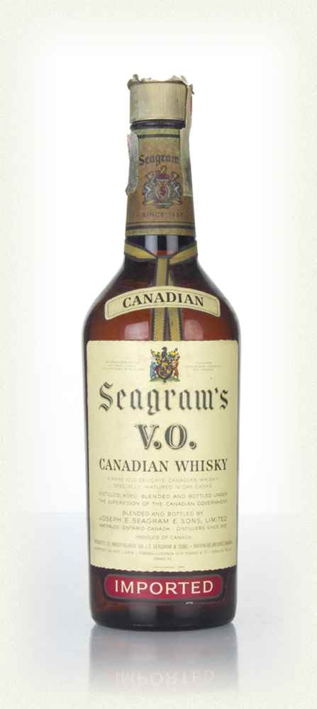 Seagram's V.O. 6 Year Old Canadian Whisky - 1966
