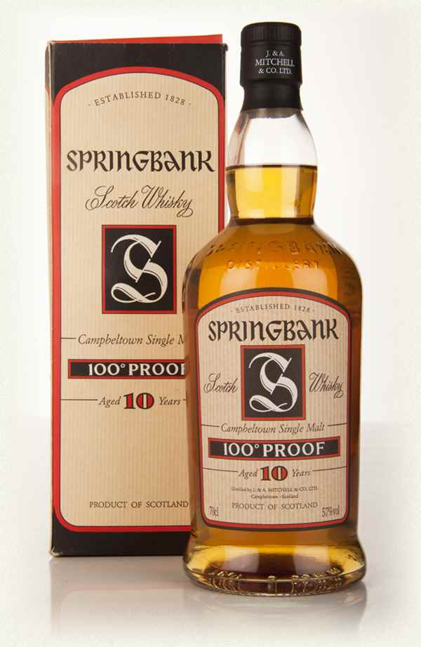 Springbank 10 Year Old 100 Proof (Old Edition)
