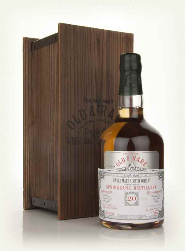 Springbank 20 Year Old 1991 - Old & Rare (Douglas Laing)