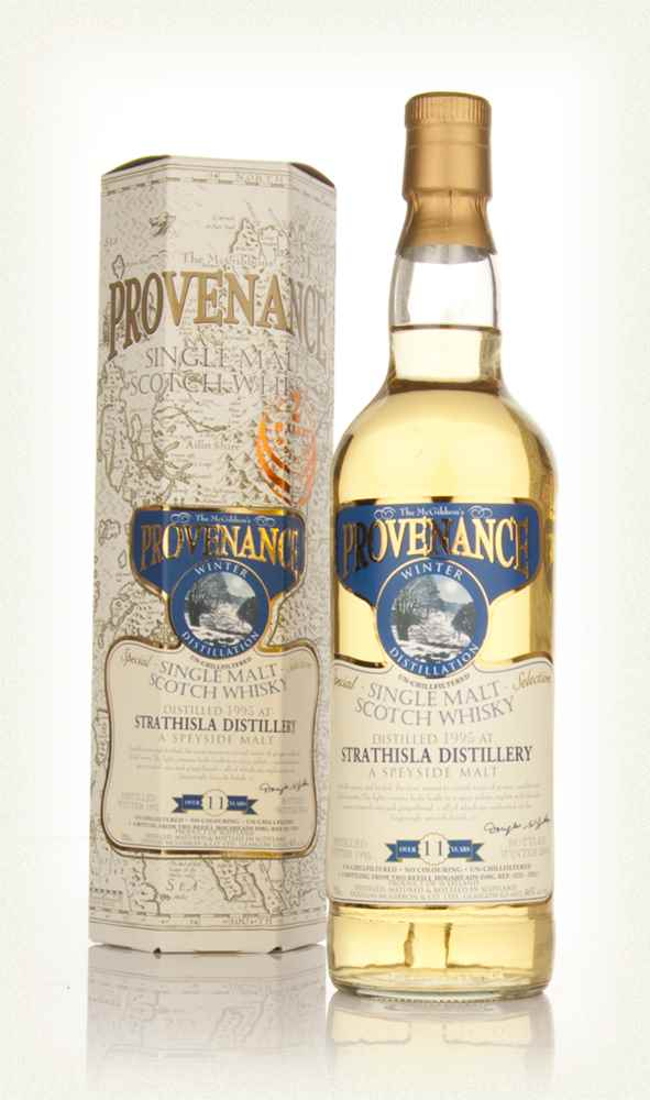 Strathisla 11 Year Old 1995 - Provenance (Douglas Laing)