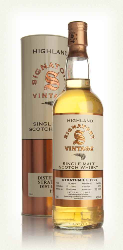 Strathmill 16 Year Old 1992 (Signatory)