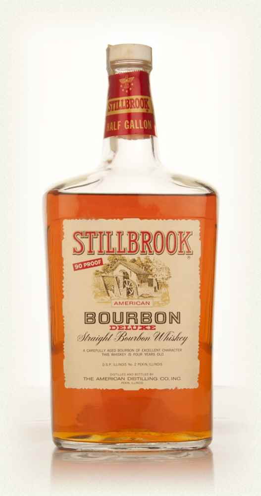 Stillbrook 4 Year Old American Straight Bourbon Whiskey 1.9l - 1960s