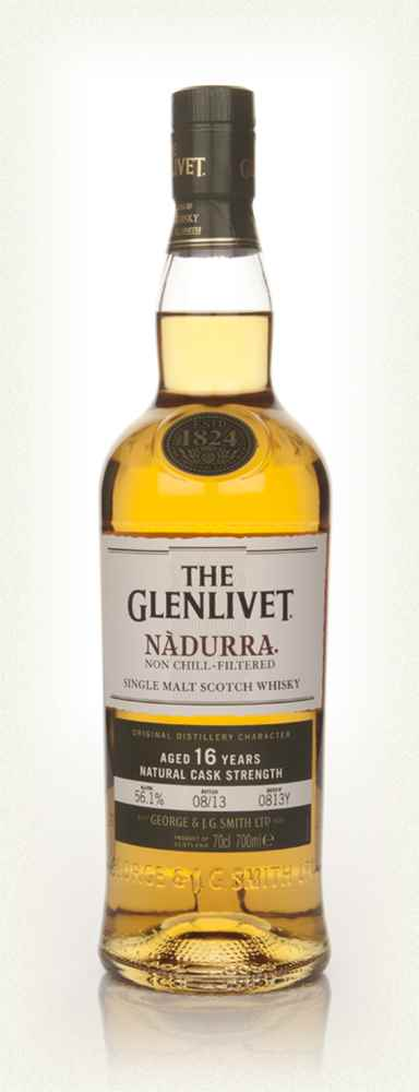 The Glenlivet 16 Year Old Nàdurra Batch 0813Y