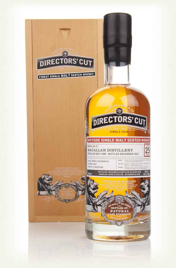Macallan 25 Year Old 1988 (cask 10160) - Directors' Cut (Douglas Laing)