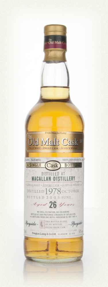 Macallan 26 Year Old 1978 - Old Malt Cask (Douglas Laing)