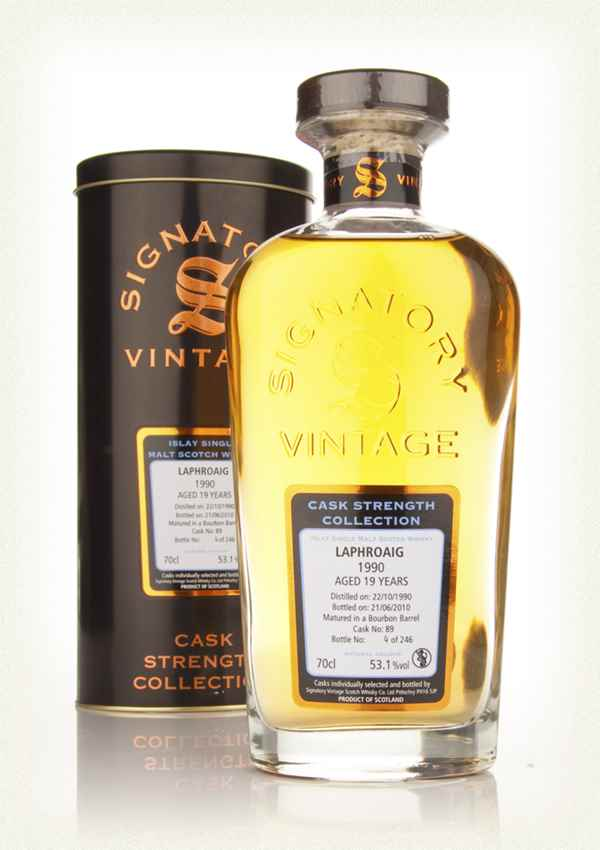 Laphroaig 19 Year Old 1990 Cask 89 - Cask Strength Collection (Signatory)