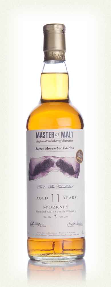 Whisky 4 Movember No 1. The Handlebar