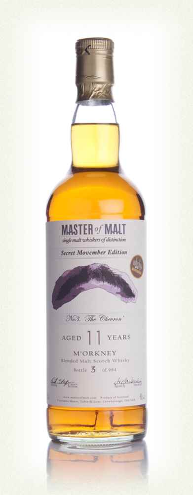Whisky 4 Movember No 3. The Chevron