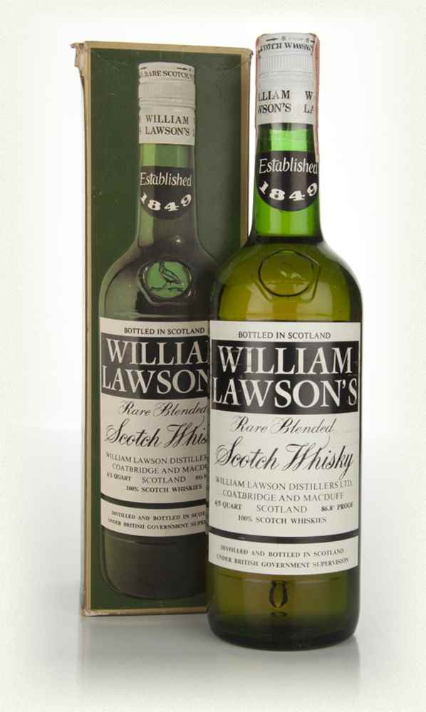 William Lawson's - 1970s (boxed)