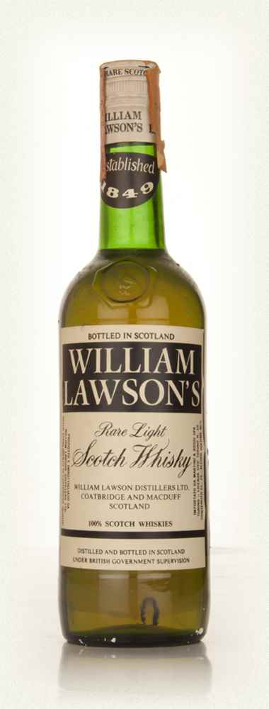 William Lawson's Blended Scotch Whisky - 1960s