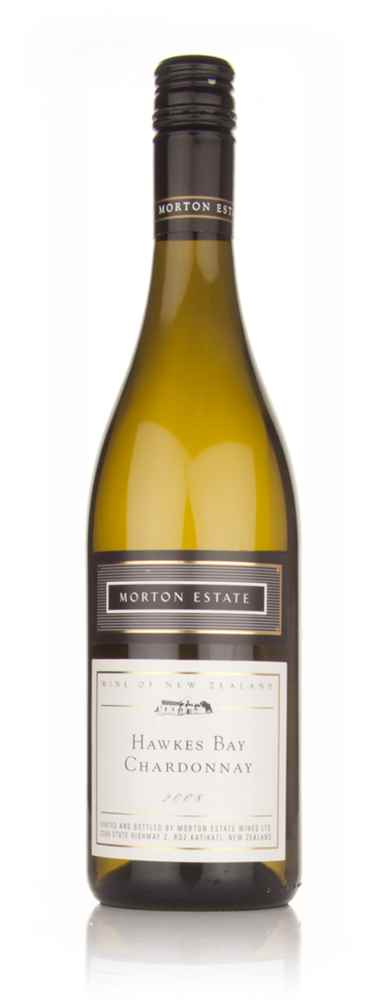 Morton Estate 2008 Hawkes Bay Chardonnay White Label