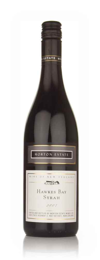 Morton Estate White Label Hawkes Bay Syrah 2007