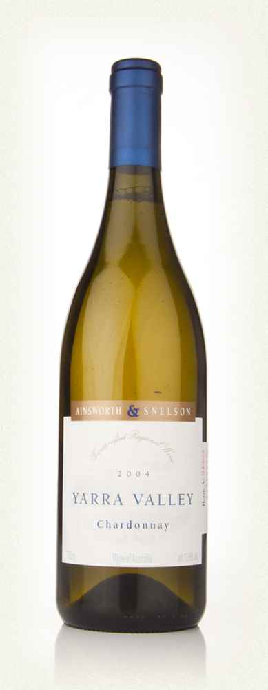 Ainsworth and Snelson Yarra Valley Chardonnay 2004