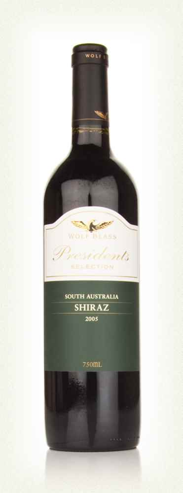 Wolf Blass Presidents Selection Shiraz 2005